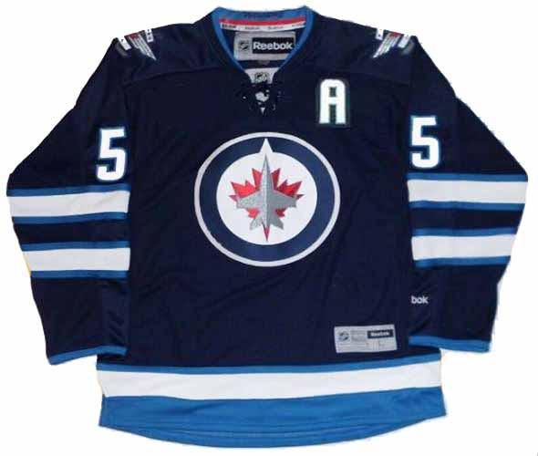 super popular fa725 3901a MARK SCHEIFELE Winnipeg Jets 2016 REEBOK Throwback NHL Hockey Jersey