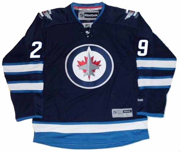 the latest 16150 1fc62 PATRIK LAINE Winnipeg Jets 2016 REEBOK Throwback NHL Hockey Jersey