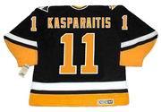 Darius Kasparaitis 1996 Pittsburgh Penguins NHL Throwback Away Jersey - BACK