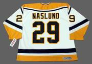 MARKUS NASLUND Pittsburgh Penguins 1995 CCM Throwback Home NHL Jersey
