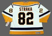 MARTIN STRAKA Pittsburgh Penguins 1998 CCM Throwback Home NHL Jersey