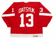 PAVEL DATSYUK Detroit Red Wings 2002 Away CCM Throwback NHL Hockey Jersey - BACK
