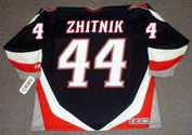 ALEXEI ZHITNIK 2003 CCM Vintage NHL Buffalo Sabres Throwback Jersey - BACK