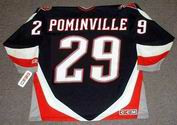 JASON POMINVILLE Buffalo Sabres 2005 CCM Throwback NHL Hockey Jersey