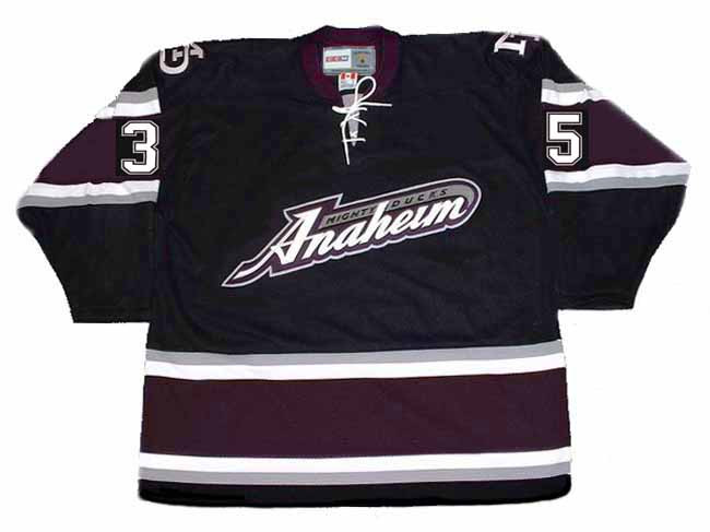 ... Alternate Anaheim Mighty Ducks Jersey - BACK. See 3 more pictures 66b8e5b07