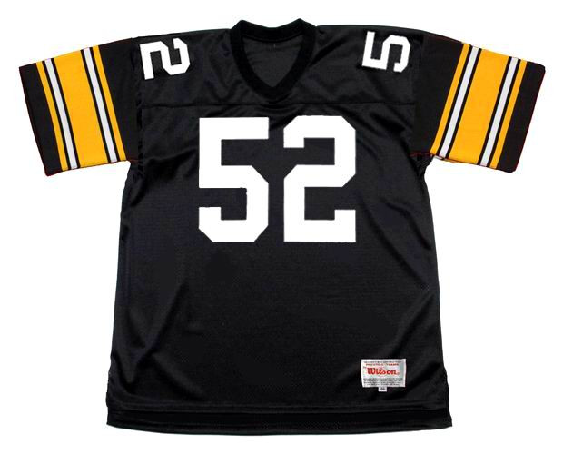 huge discount 0cd0b 9c9f8 MIKE WEBSTER Pittsburgh Steelers 1979 Throwback Home NFL Football Jersey
