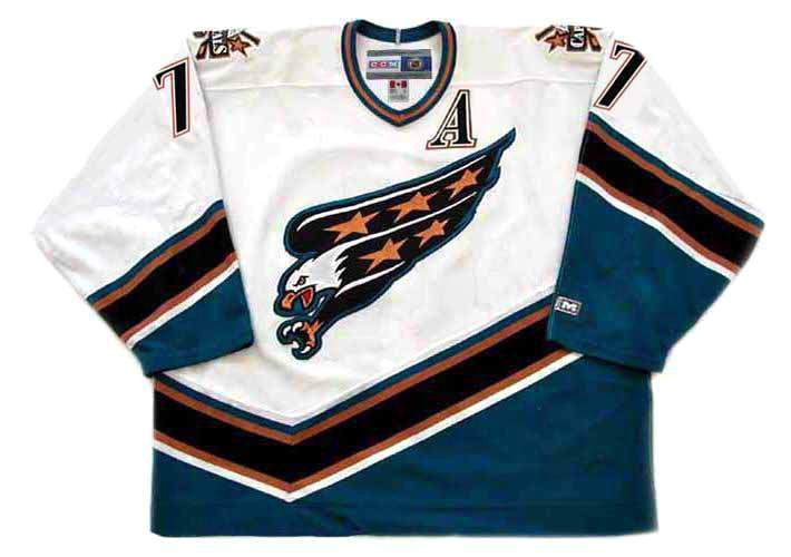 more photos 6932a fd81a ADAM OATES Washington Capitals 1998 Home CCM Vintage Throwback NHL Jersey