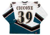 ENRICO CICCONE Washington Capitals 1998 CCM Vintage Home NHL Hockey Jersey