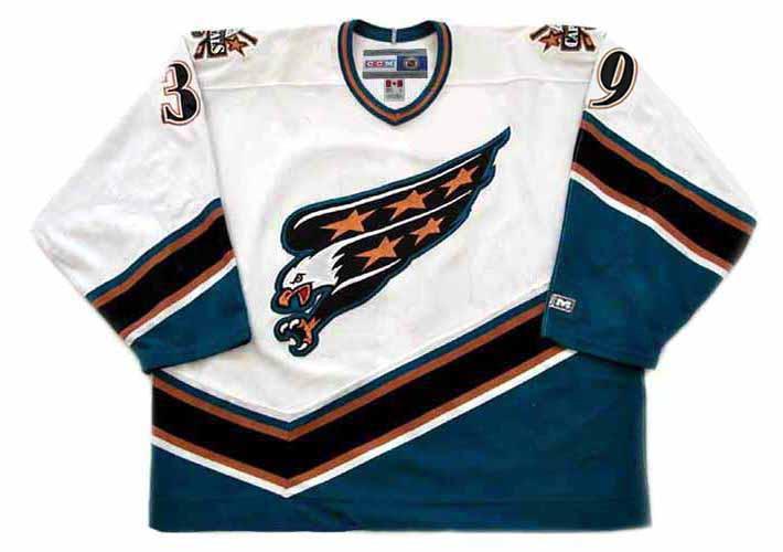 7e11166c ... Washington Capitals 1998 CCM Vintage Home NHL Hockey Jersey. Image 1