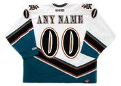 "WASHINGTON CAPITALS 1990's CCM Throwback NHL Jersey Customized  ""Any Name & Number(s)"""