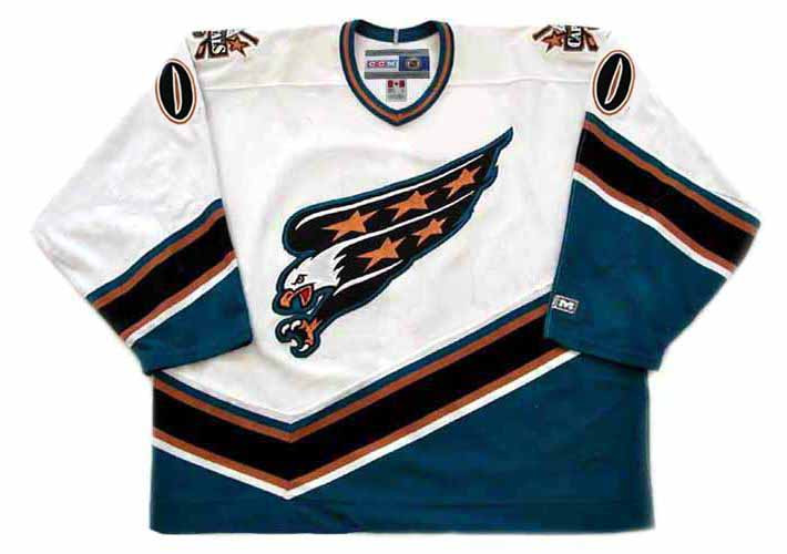 WASHINGTON CAPITALS 1990 s Home CCM Customized Throwback Jersey - BACK. See  4 more pictures 005d93335