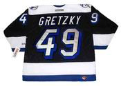 BRENT GRETZKY Tampa Bay Lightning 1993 CCM Throwback NHL Hockey Jersey