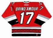 ROD BRIND'AMOUR Carolina Hurricanes 2002 CCM Throwback Away NHL Hockey Jersey