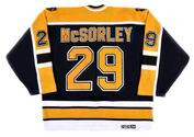 MARTY McSORLEY Boston Bruins 1999 CCM Vintage Away NHL Hockey Jersey