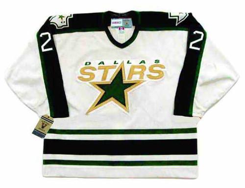 Brett Hull 1998 Dallas Stars CCM Home NHL Throwback Hockey Jersey - FRONT