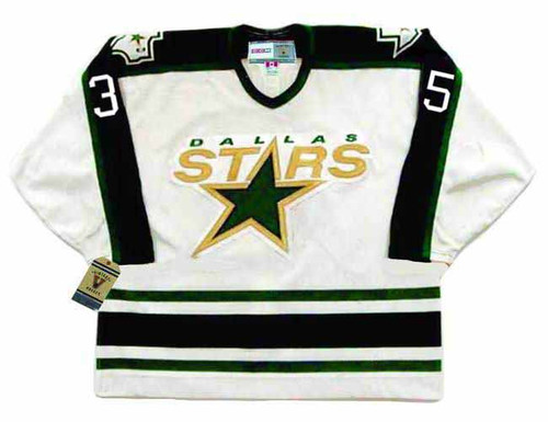ANDY MOOG Dallas Stars 1996 Home CCM Throwback NHL Hockey Jersey - FRONT