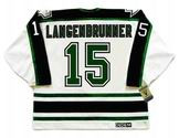 JAMIE LANGENBRUNNER Dallas Stars 1990's CCM Vintage Throwback NHL Hockey Jersey