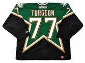 PIERRE TURGEON Dallas Stars 2003 CCM Throwback NHL Hockey Jersey