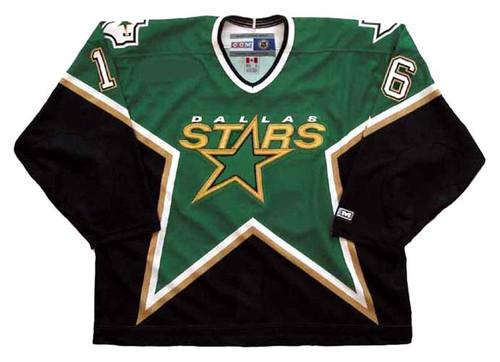 Brett Hull 2000 Dallas Stars CCM Away NHL Throwback Hockey Jersey - FRONT