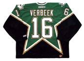 PAT VERBEEK Dallas Stars 1997 CCM Throwback Away NHL Hockey Jersey