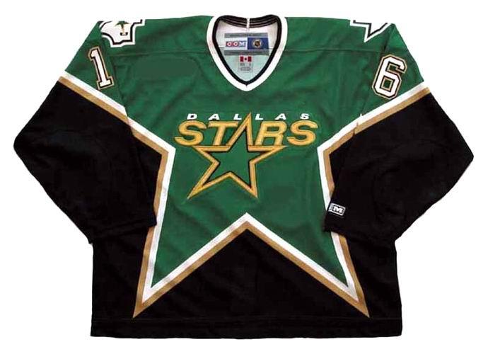 official photos 060b0 6a81f PAT VERBEEK Dallas Stars 1997 CCM Throwback Away NHL Hockey Jersey