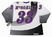MARTY McSORLEY Los Angeles Kings 1995 CCM Vintage Throwback NHL Hockey Jersey - Back