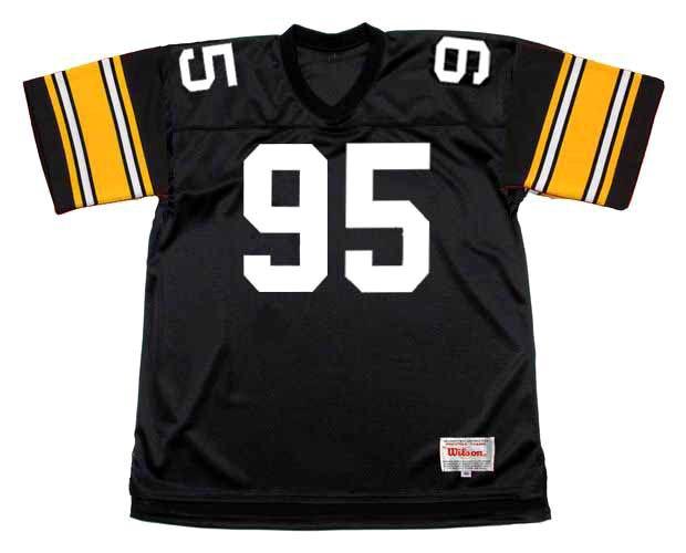 GREG LLOYD Pittsburgh Steelers 1989 Throwback Home NFL Football Jersey