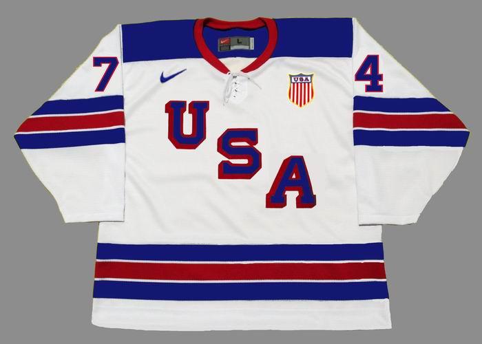 size 40 bbff6 56395 TJ OSHIE 2014 USA Nike Olympic Throwback Hockey Jersey