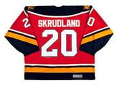 1996 Away CCM Throwback BRIAN SKRUDLAND  Vintage Panthers Jersey - BACK
