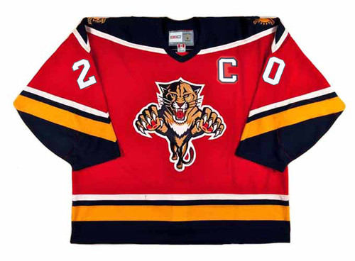 1996 Away CCM Throwback BRIAN SKRUDLAND  Vintage Panthers Jersey - FRONT