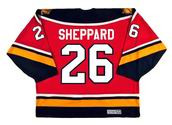 1996 Away CCM Throwback RAY SHEPPARD  Vintage Panthers Jersey - BACK