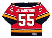 ED JOVANOVSKI Florida Panthers 1996 CCM Vintage Throwback NHL Hockey Jersey