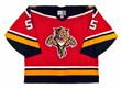 1996 Away CCM Throwback ED JOVANOVSKI  Vintage Panthers Jersey - FRONT