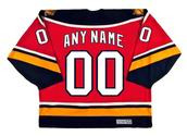 "FLORIDA PANTHERS 2002 CCM Vintage Home Jersey Customized ""Any Name & Number(s)"""