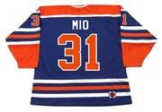 EDDIE MIO Edmonton Oilers 1978 WHA Throwback Hockey Jersey