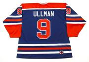 NORM ULLMAN Edmonton Oilers 1975 WHA Throwback Hockey Jersey