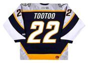 Jordin Tootoo 2006 Nashville Predators NHL Throwback Hockey Jersey - BACK