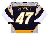 Alexander Radulov 2006 Nashville Predators NHL Throwback Hockey Jersey - BACK