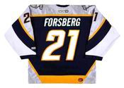 Peter Forsberg 2006 Nashville Predators NHL Throwback Hockey Jersey - BACK