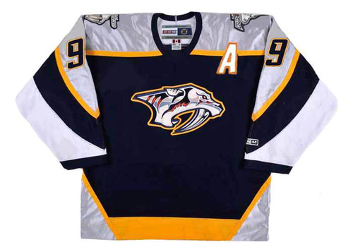 Paul Kariya 2006 Nashville Predators CCM NHL Throwback Hockey Jersey - FRONT
