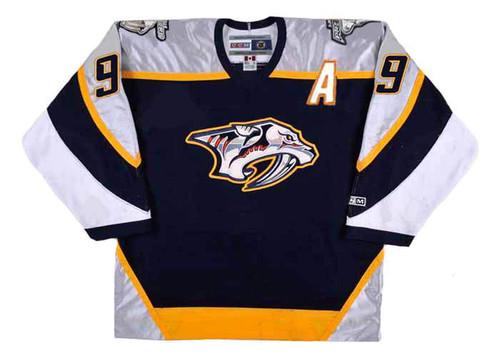 Paul Kariya 2006 Nashville Predators CCM NHL Throwback Hockey Jersey - FRONT