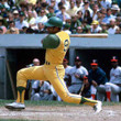 REGGIE JACKSON Oakland Athletics 1968 Majestic Baseball Throwback Jersey - ACTION