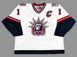 MARK MESSIER New York Rangers CCM Throwback Liberty NHL Hockey Jersey - FRONT