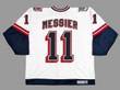 MARK MESSIER New York Rangers CCM Throwback Liberty NHL Hockey Jersey - BACK