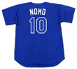 HIDEO NOMO Los Angeles Dodgers 2003 Majestic Baseball Throwback Jersey - BACK