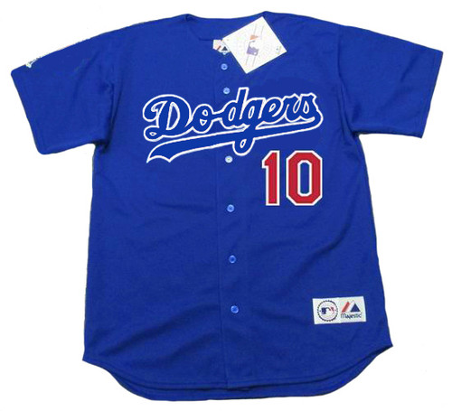 HIDEO NOMO Los Angeles Dodgers 2003 Majestic Baseball Throwback Jersey - FRONT