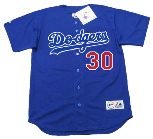 DAVE ROBERTS Los Angeles Dodgers 2003 Majestic Baseball Throwback Jersey - FRONT