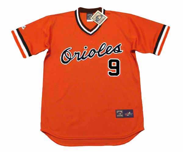 buy online 87015 f7c34 REGGIE JACKSON Baltimore Orioles 1976 Majestic Cooperstown Alternate  Baseball Jersey