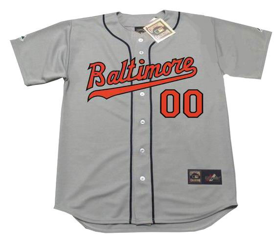 wholesale dealer 3e822 7ca16 BALTIMORE ORIOLES 1960's Away Majestic Throwback Jersey Customized