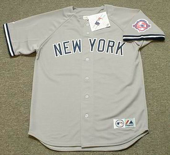 sale retailer c2b46 7643f BERNIE WILLIAMS New York Yankees 2003 Away Majestic Throwback Baseball  Jersey